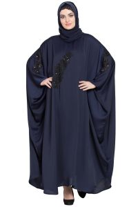 Nazneen embellished patch Nida Kaftan
