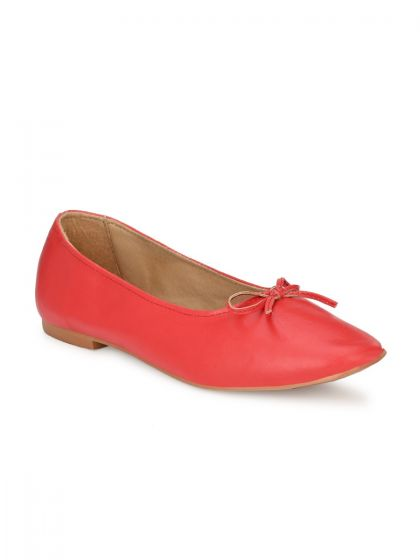 Zebba Women Red Casual Shoes
