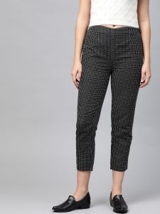 Pinksky Designer Cotton Flex Slim Pants For Women.