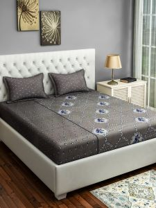 Swayam Fitted Double Bed Sheet