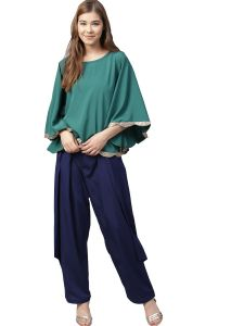 Ahalyaa Indo Western Cape With Pants