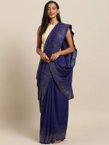 Haneesha Ensemble Vichitra Silk Saree