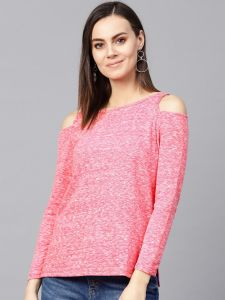 Zima Leto Women's Cold-Shoulder Sweater