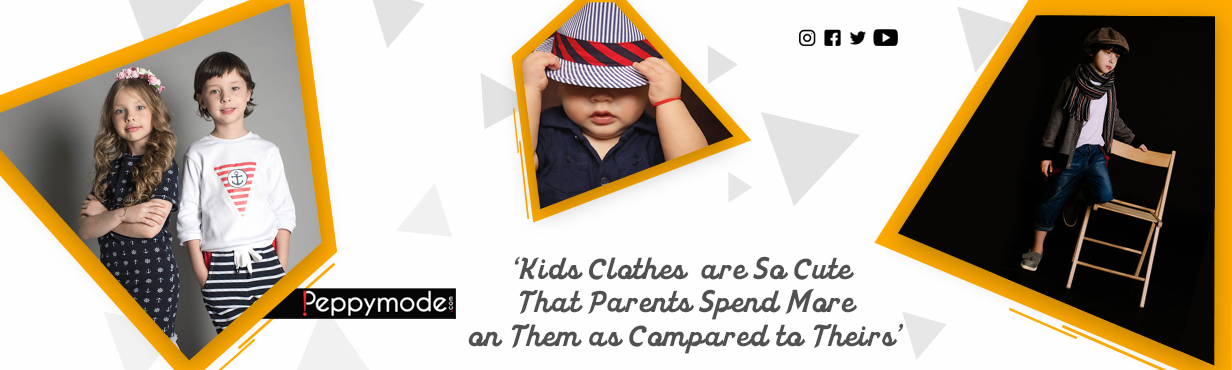 Kids' Clothes are So Cute That Parents Spend More on Them as Compared to Theirs'